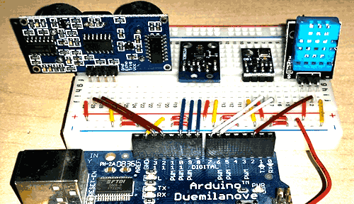 Arduino multiple I2C slaves