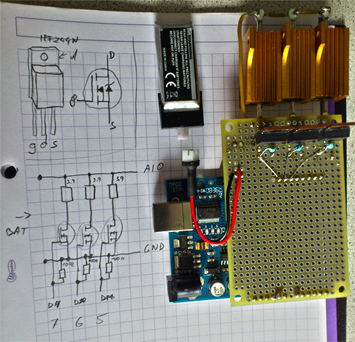 Arduino Lipo Discharge Shield