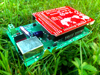 MultiDisplay with Arduino in Grass