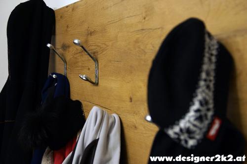 Garderobe aus Werkzeug