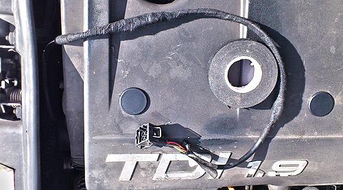 Kabel einwickeln